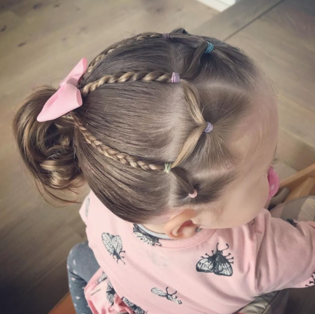 21 Hairstyles For Kids Girls Toddlers In 2020 Toddler Hair Dos