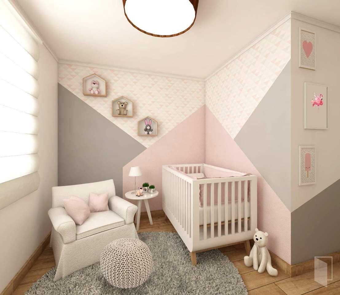 Épinglé par Patricia Palacios sur ideas  Idée déco chambre bébé