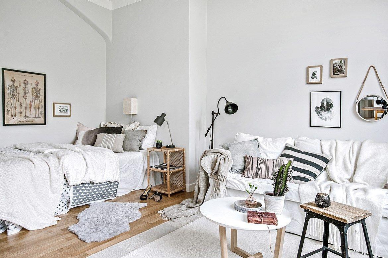Piso de m con planta abierta minis apartments and studio