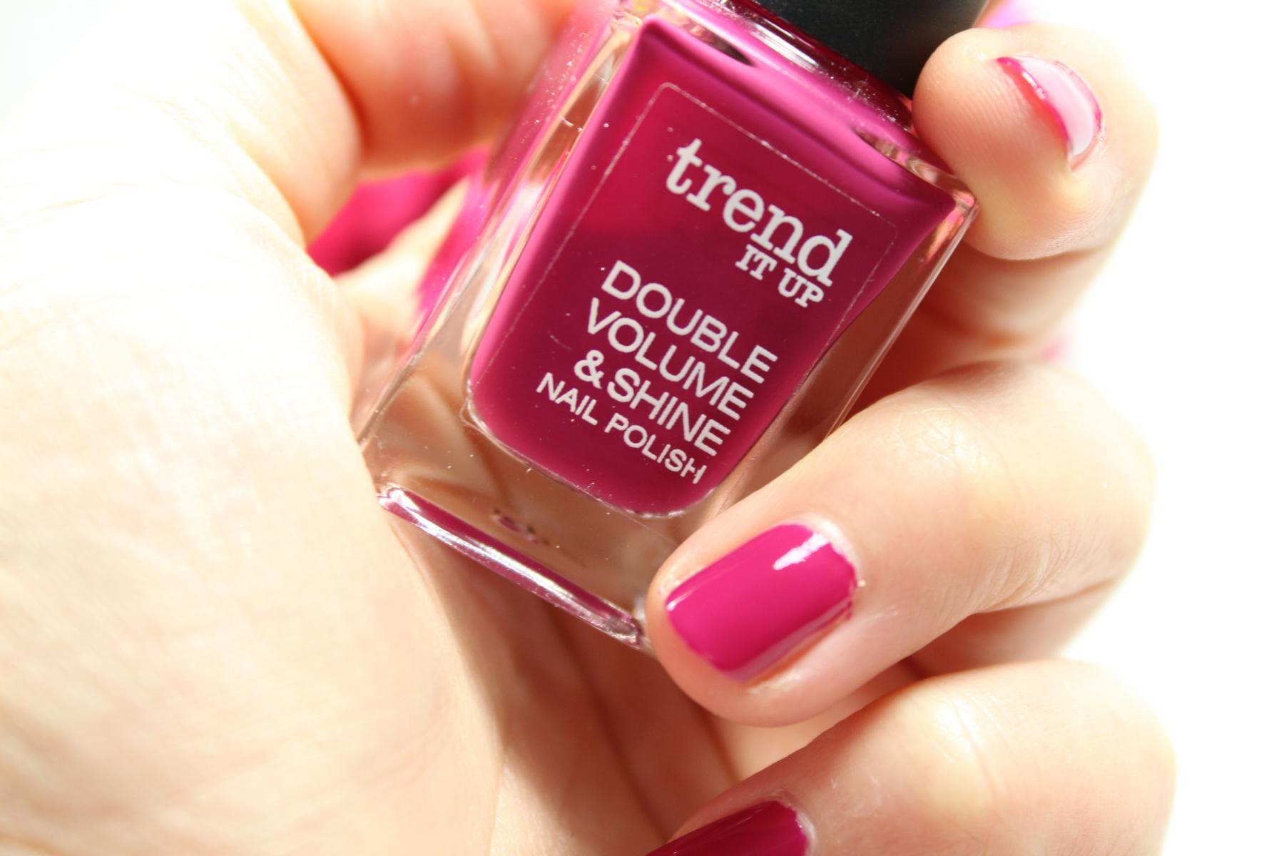 Heute im #manicuremonday auf meinem Blog: Der trend it up Double ...