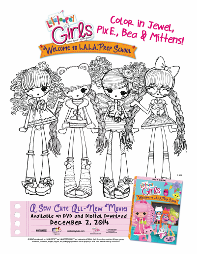 Just in Time for the Holidays -- Lalaloopsy Girls: Welcome to ...