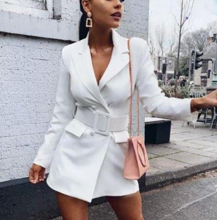 Standesamt Mode | Elegantes Blazer Kleid für den ...