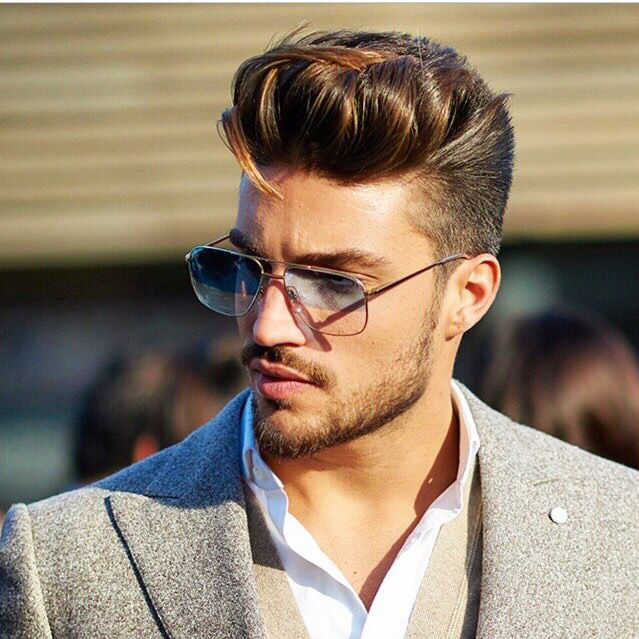 Close Up Mens Details Mariano Di Vaio Mens Hairstyles Mens Hairstyles Undercut Hair And Beard Styles