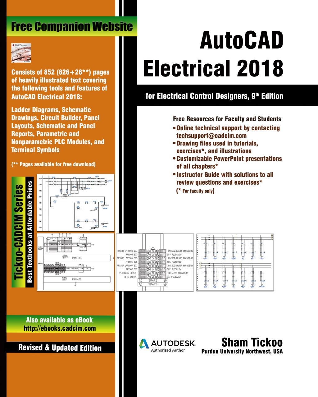 Autocad Electrical 2018 For Electrical Control Designers 9th