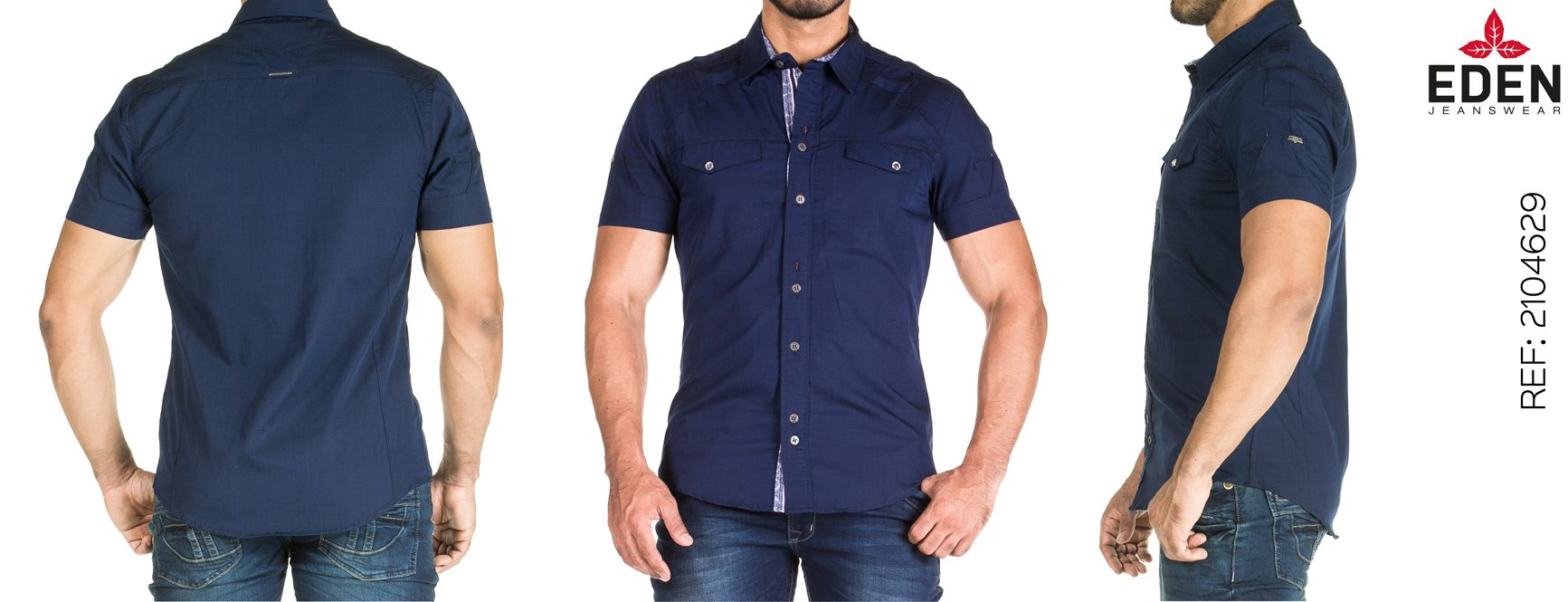 eb213e1acb Camisa Manga Corta Eagle Ref.2104629