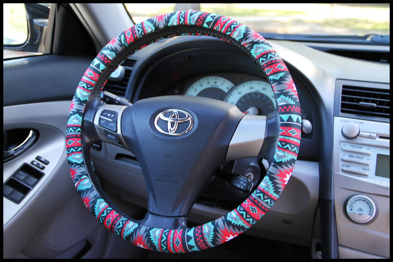 Create your own custom steering wheel cover, in the patterns and ...