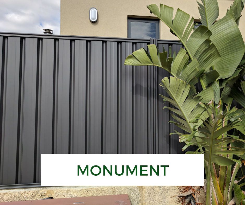 Pin On Garage Makeover: Colorbond Fence Makeover - Monument