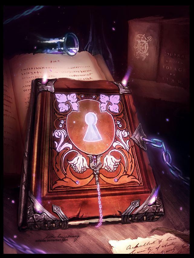 Gift: Magic Book | Magic book, Magical book, Fantasy art