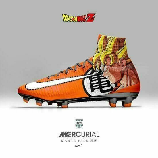Nike Launches new cleats for dragon Ball fans <-----> Double