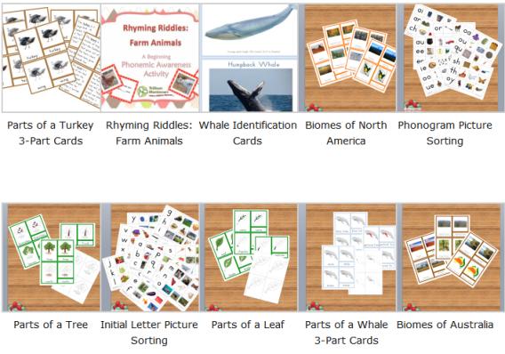 The Best Montessori Printables Montessori printables