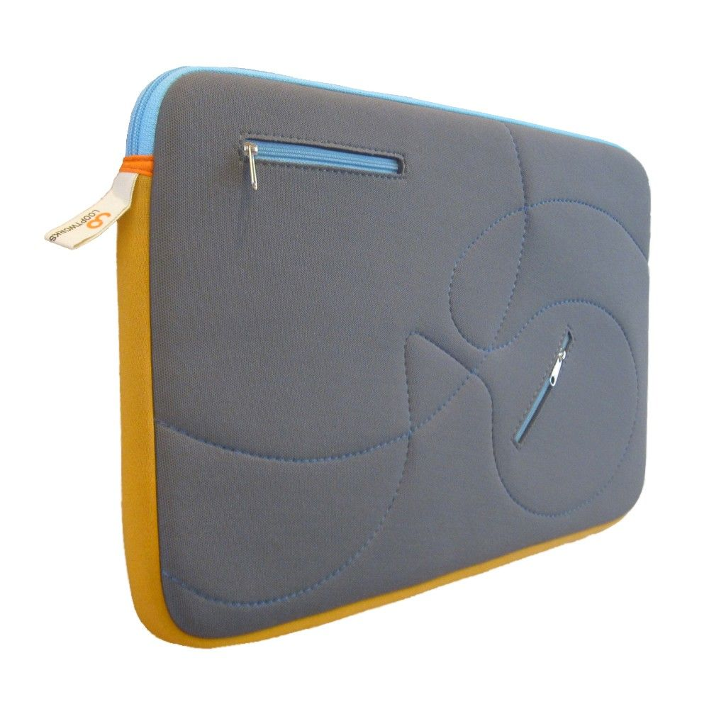 HOPTU Laptop Sleeve 15'' // Upcycled from Excess Wetsuit Material $35
