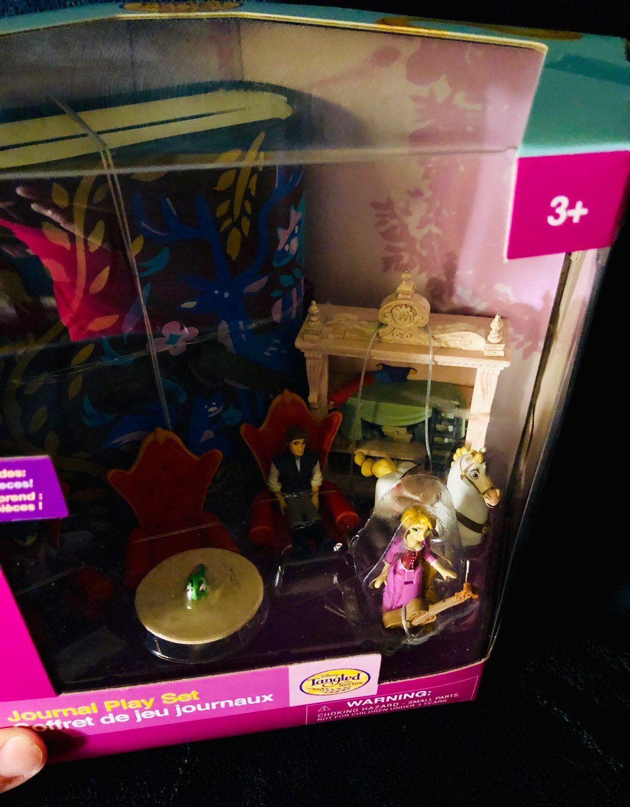 Disney Tangled The Series Mini Doll Set Mercari Doll Sets Disney Tangled Disney Store