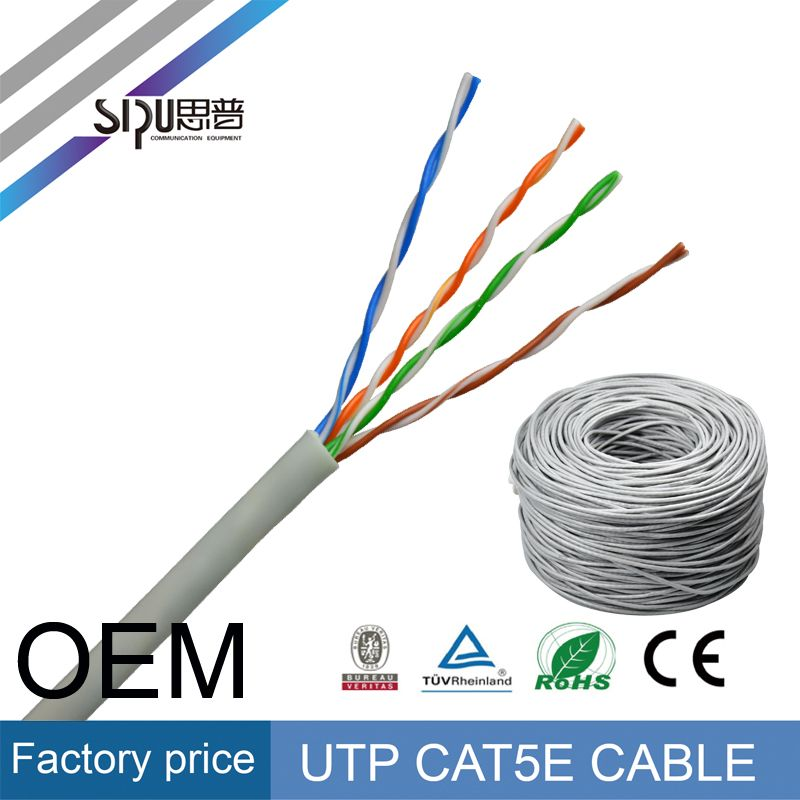 Purple 1pk Pullbox Solid ACCL 1000ft Cat5e UTP Ethernet Cable