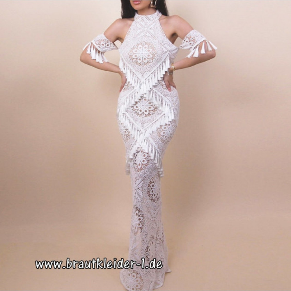 vintage style standesamt kleid hochzeitskleid in weiß aus