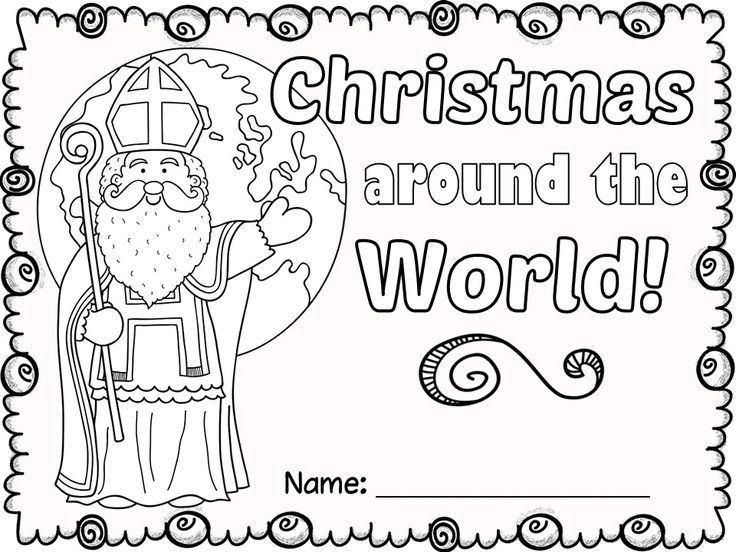 Free Christmas Around The World No Prep Activities Christmas Teaching Christmas Kindergarten Christmas Classroom