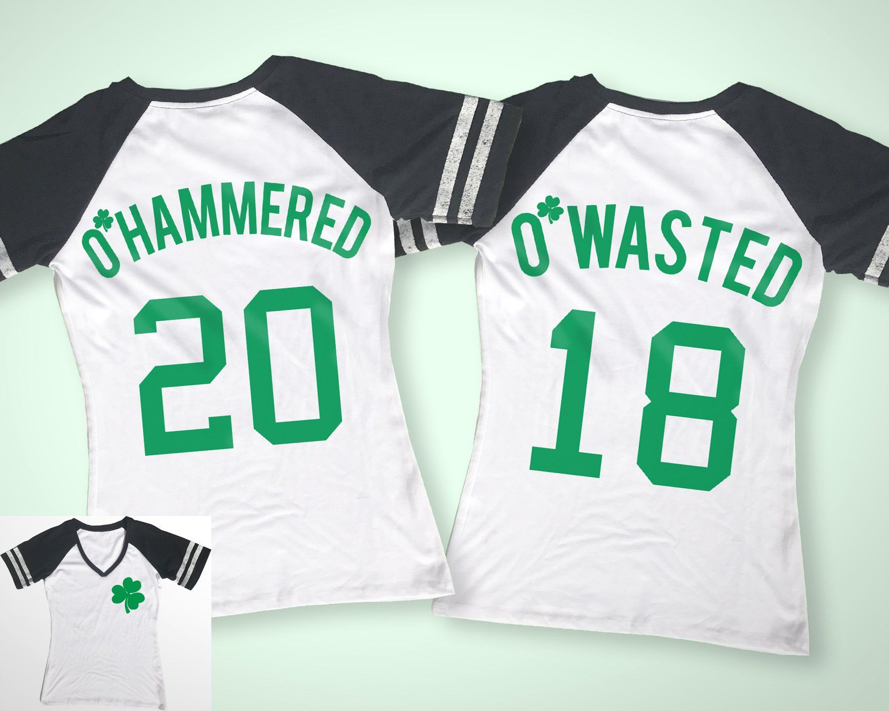 6dcc4d388 O'Wasted St. Patrick's Day Drinking Team Shirt - 3 Names to Pick ...