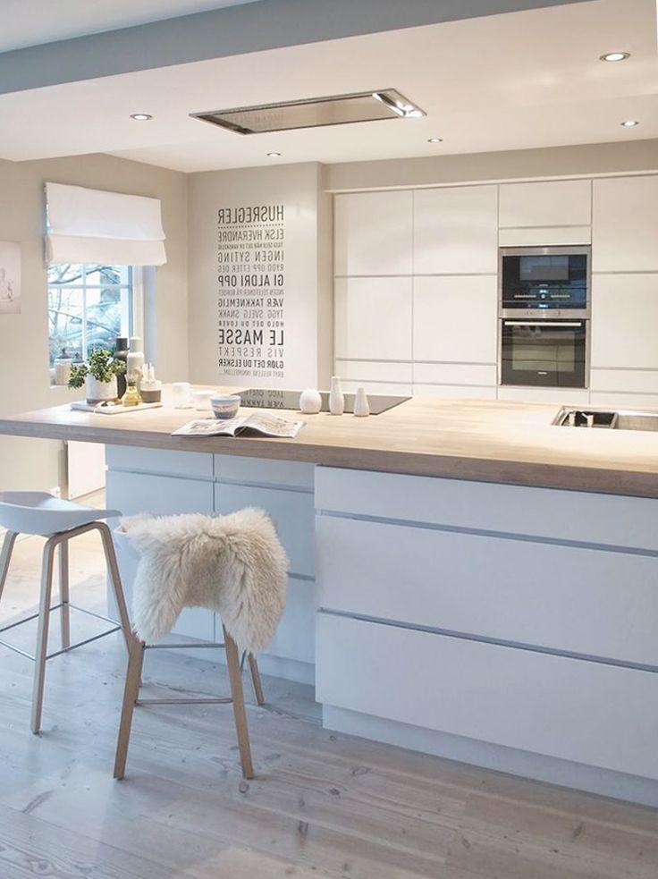 Küchenblock mit bar Küche Pinterest Küchenblock, Bar und Küche - farbe fur kuche aktuellen tendenzen