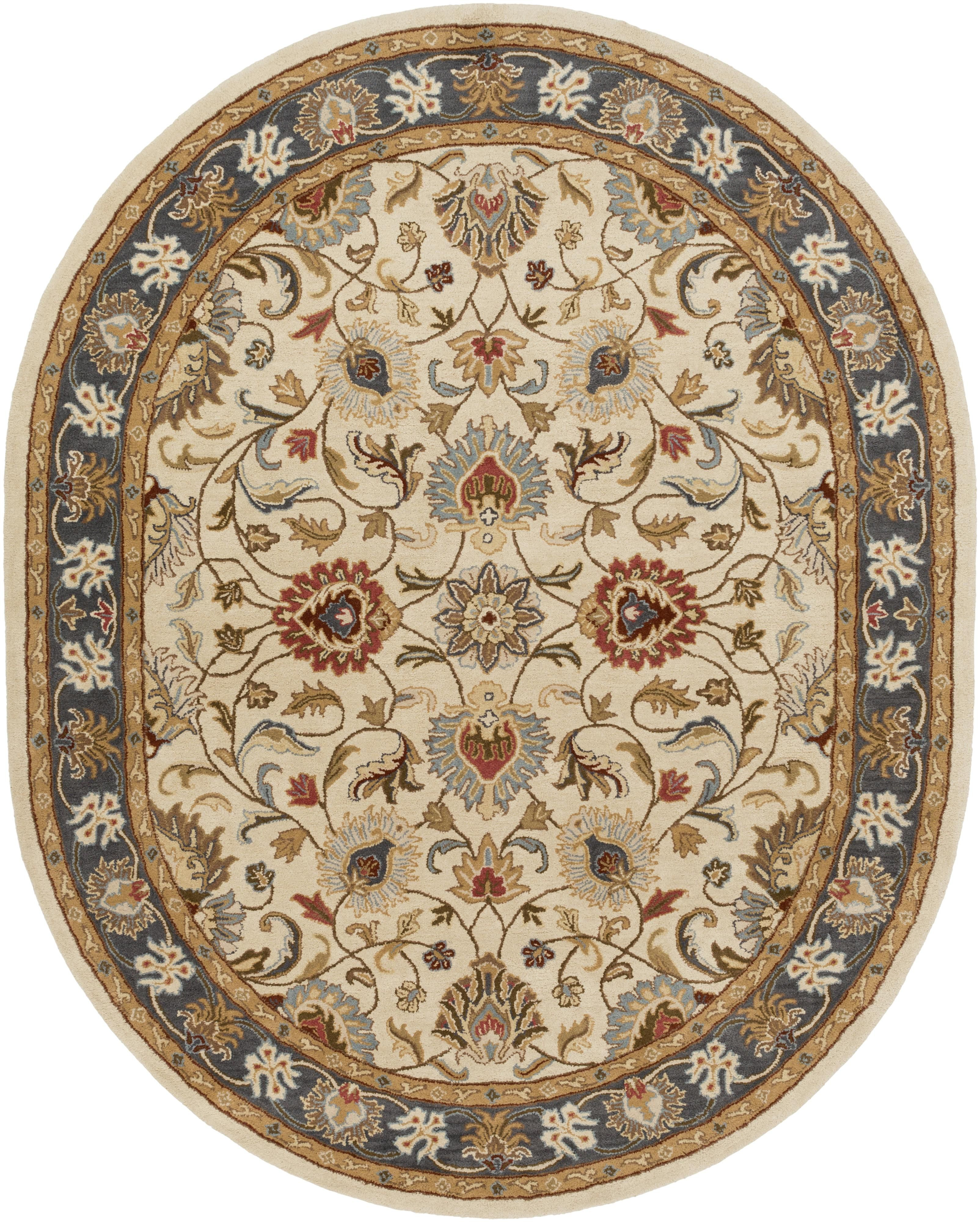 Fb Home Rugs Caesar 6 X 9 Oval Furniture Barn Manor House