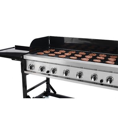Member S Mark 8 Burner Event Grill Gas Grill Gas Grill Reviews Propane Grill