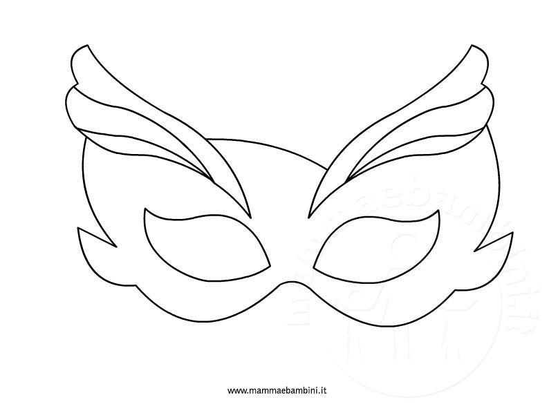 Maschere Di Carnevale Tradizionali Le News Di Scuola Da Colorare