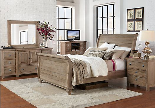 Shop for a Summer Grove Gray 7 Pc Queen Bedroom at Rooms To Go ...