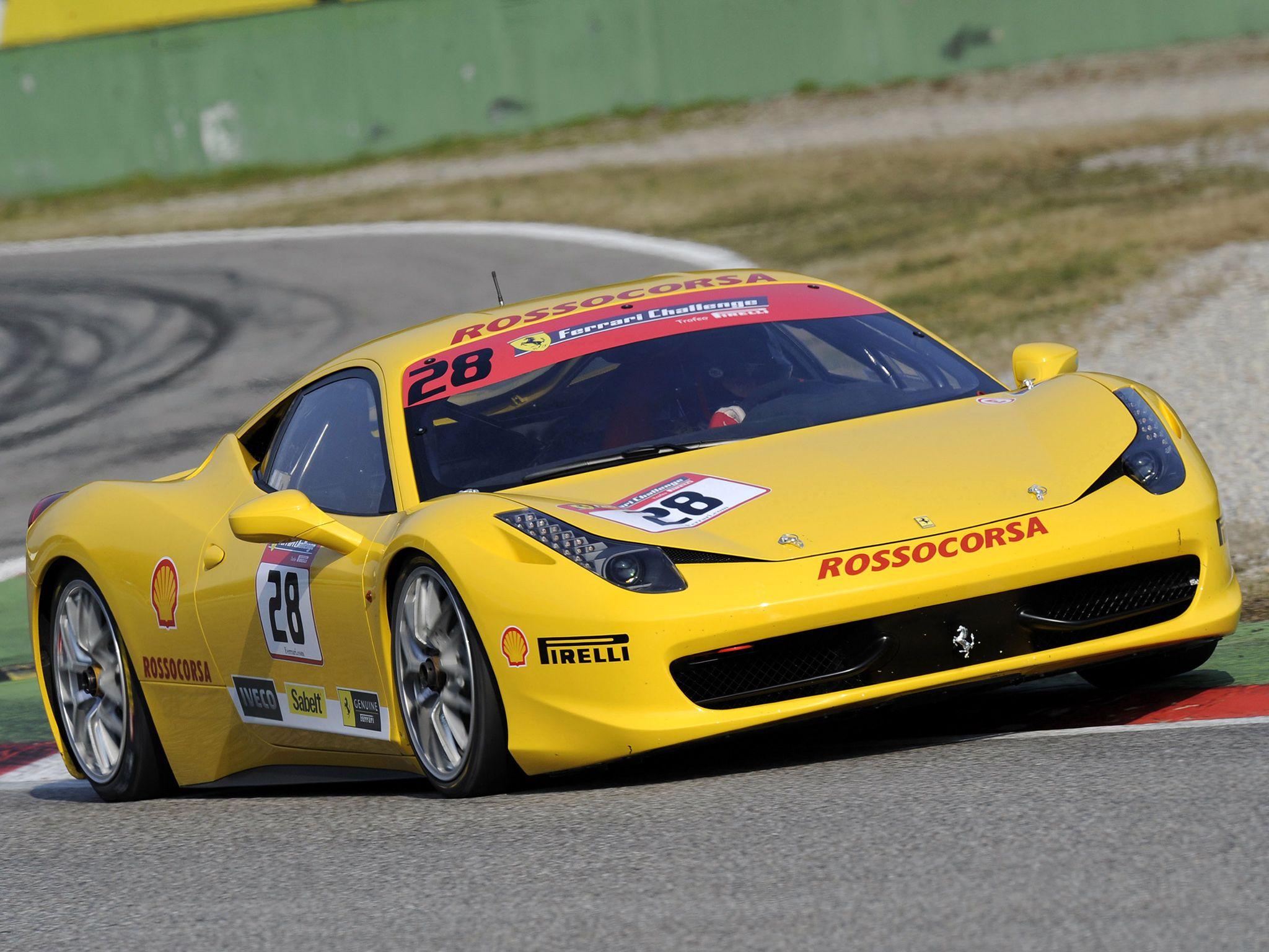 Ferrari Challenge Interior Photo