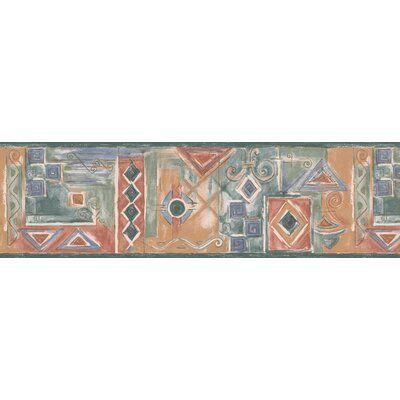 Chesapeake Wallcoverings Geometric Design 15' L x 7'' W