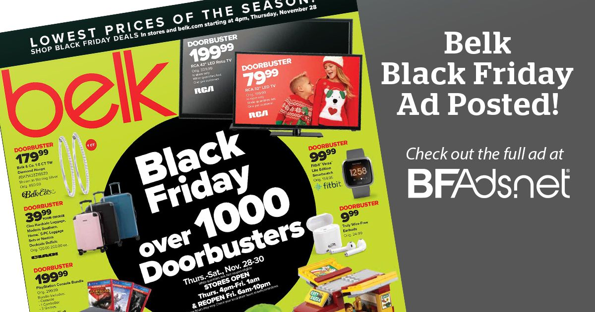 We just posted the 72-page Belk Black Friday Ad!    #bfads #blackfriday #blackfriday2019 #blackfridayads