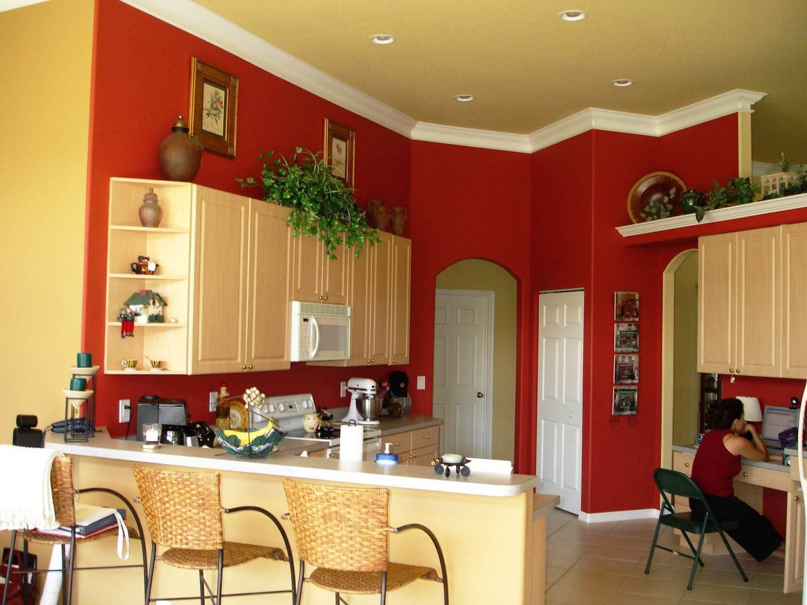 trending kitchen wall colors for the year 2019 red on good wall colors for kitchens id=27168