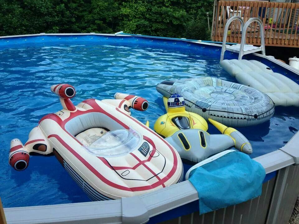 Star Wars pool toys