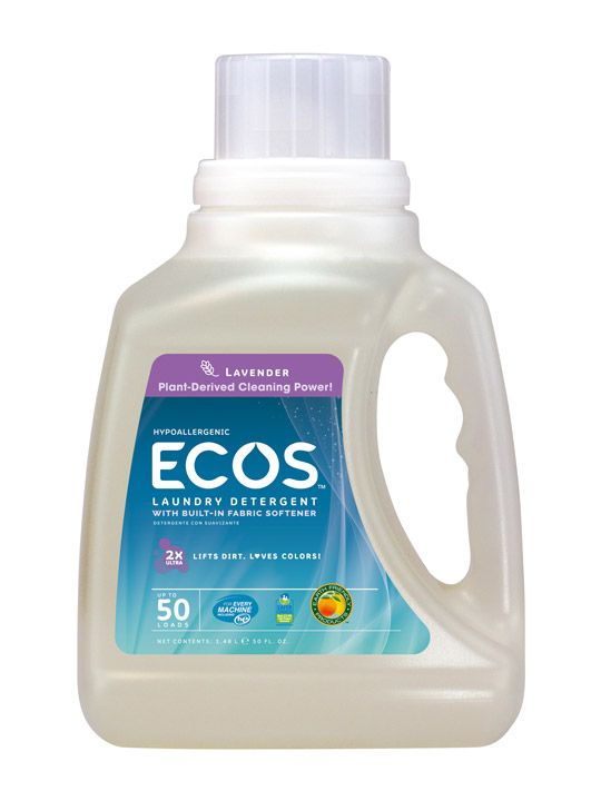 Hypoallergenic Laundry Detergent Lavender Ecos Laundry