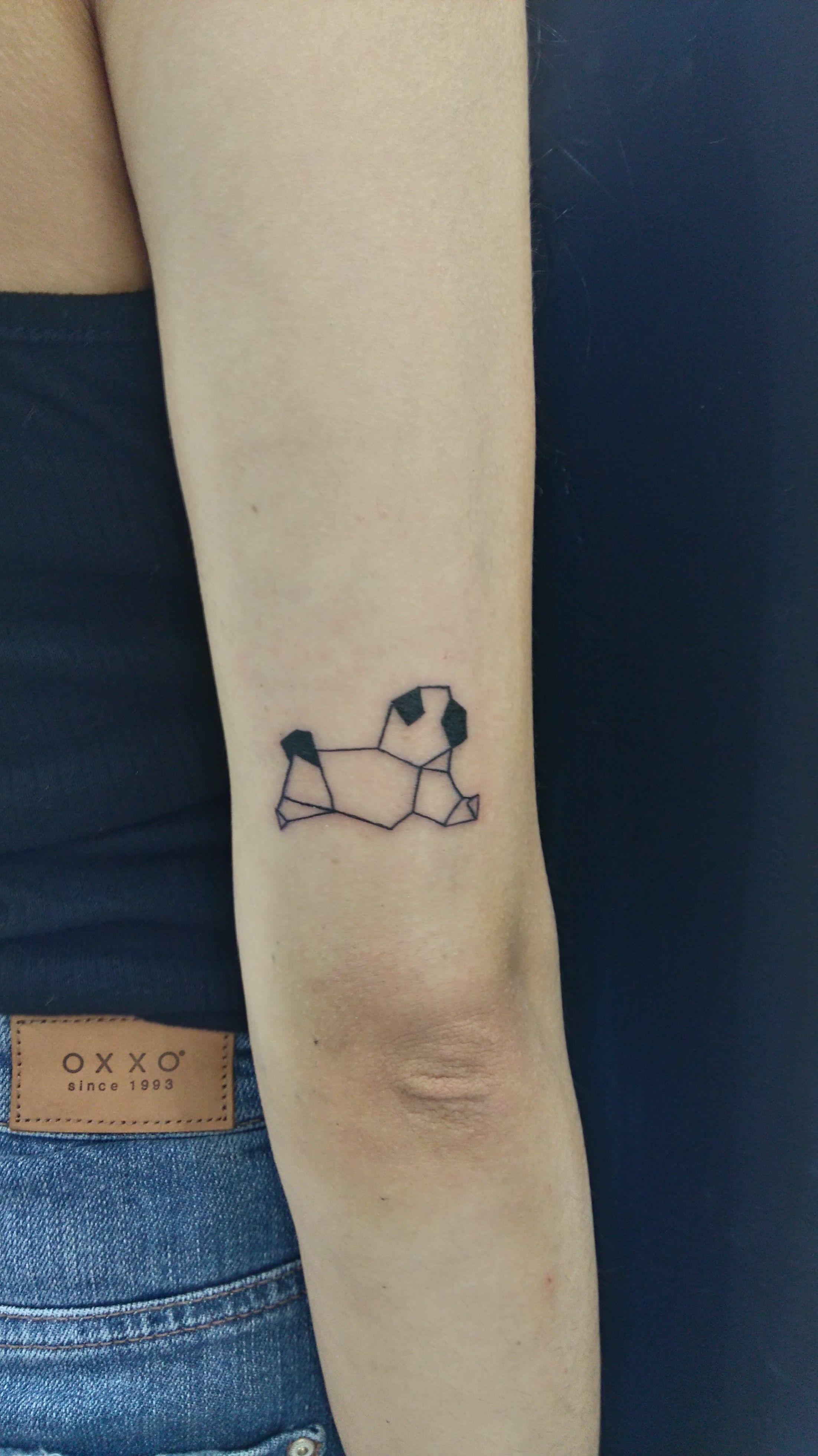 pug dog animals tattoo designs geometric my tattoo works pinterest animal tattoos tattoo. Black Bedroom Furniture Sets. Home Design Ideas