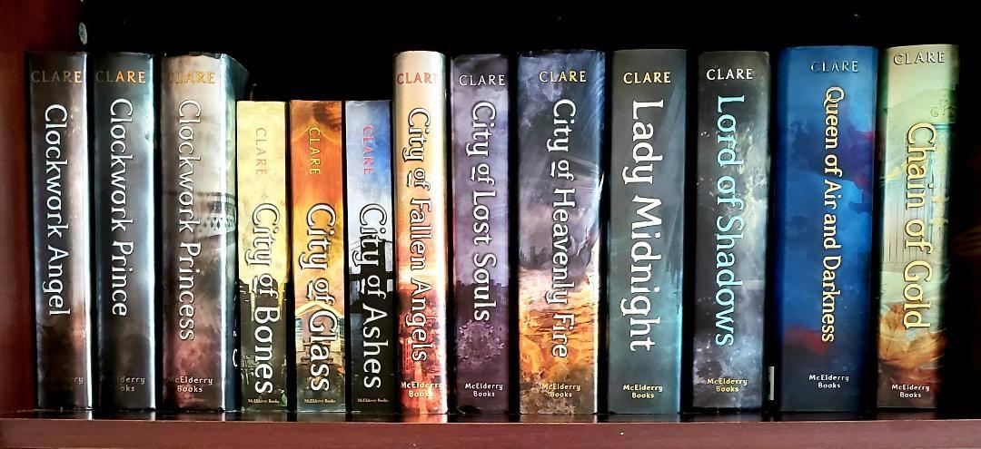 A Collection of Cassandra Clare Books | Cassandra clare books, Books, The  mortal instruments