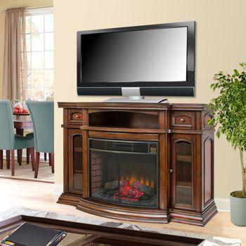 Kindlehearth Media Electric Fireplace Chimeneas Electricas