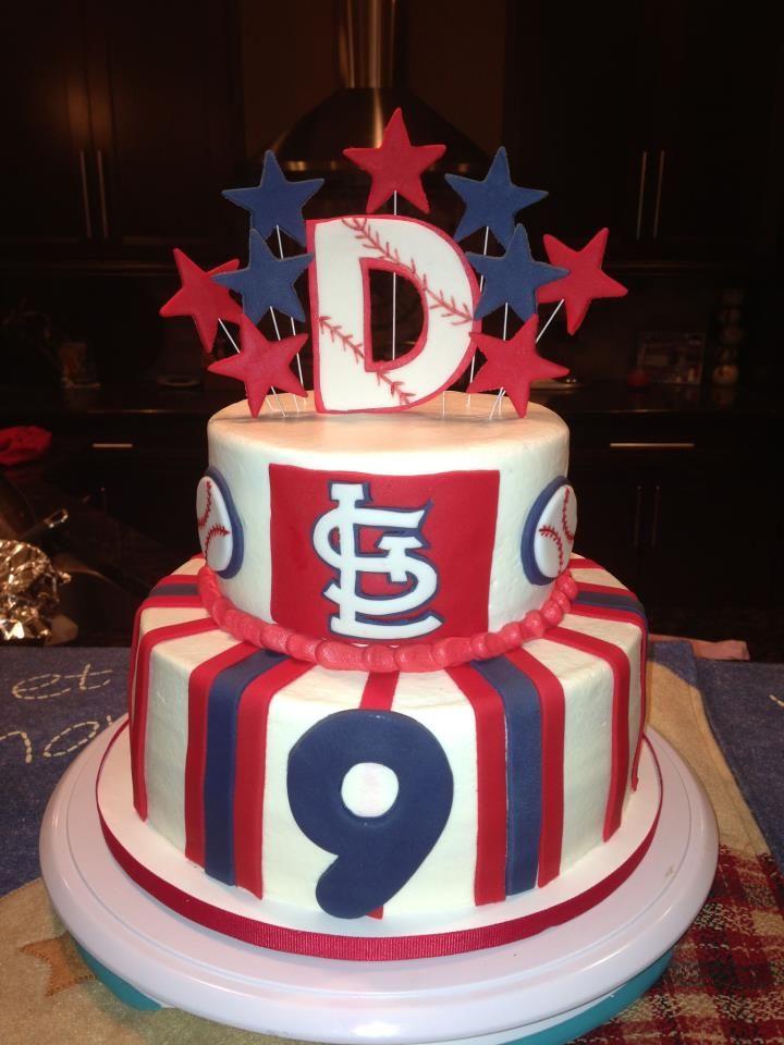 St Louis Cardinals Cake Facebook Sweetendingsbyj