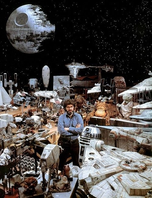 George Lucas and the props