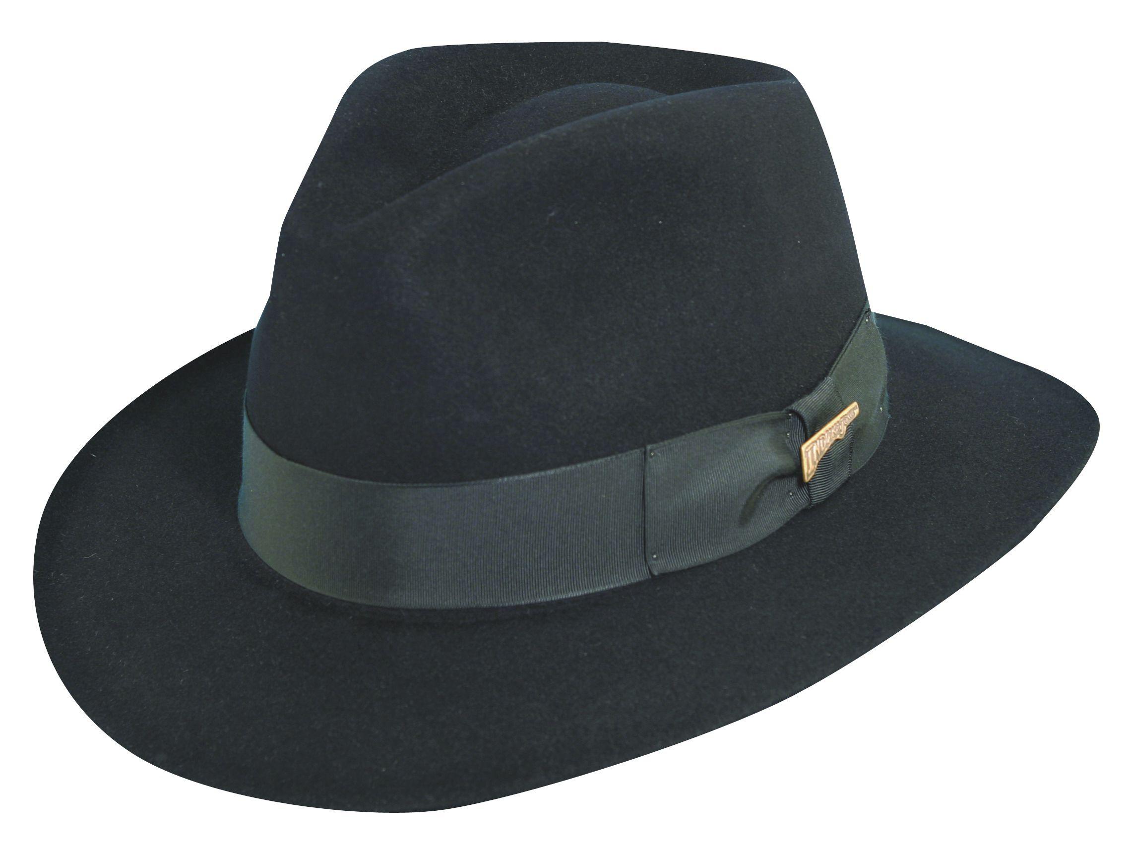 Indiana Jones Fur Felt Fedora Hat  4c2d27a0725