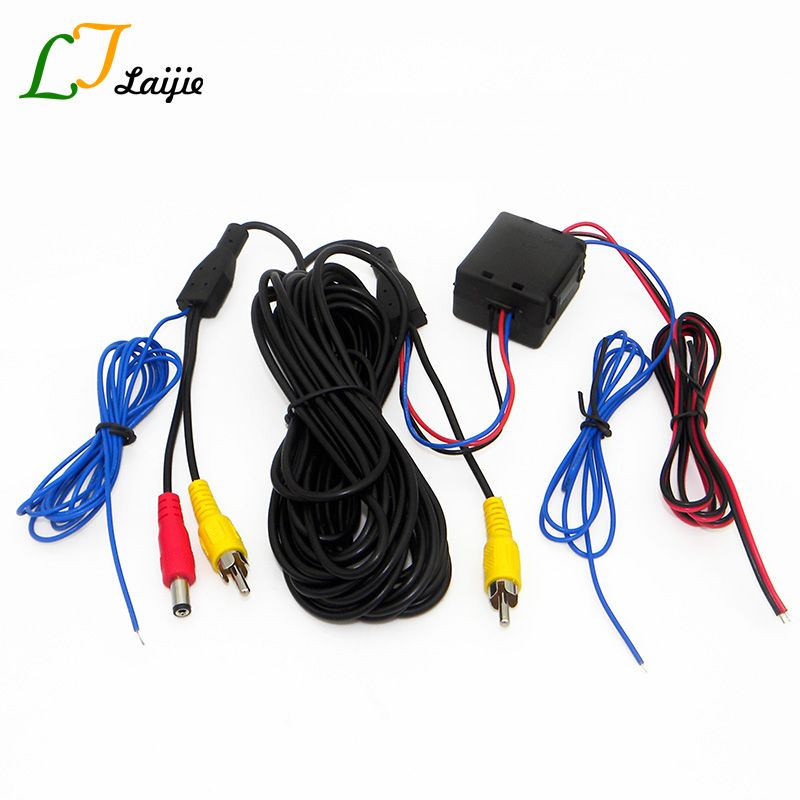 Laijie Video & Power Wires Cables Stabilized For Car Rearview ...