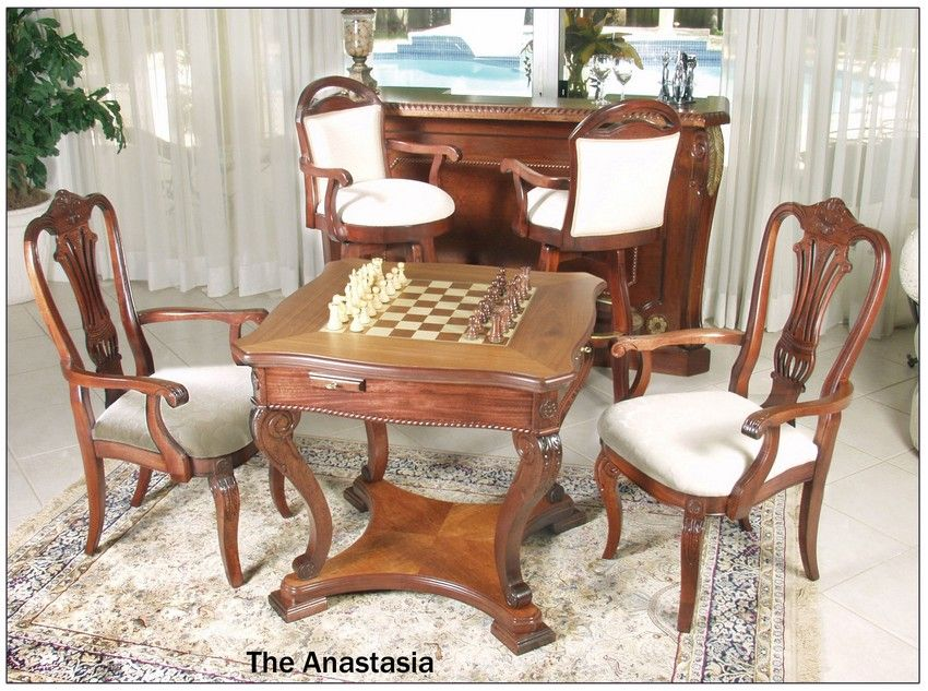 32 12 in Anastasia Chess Table