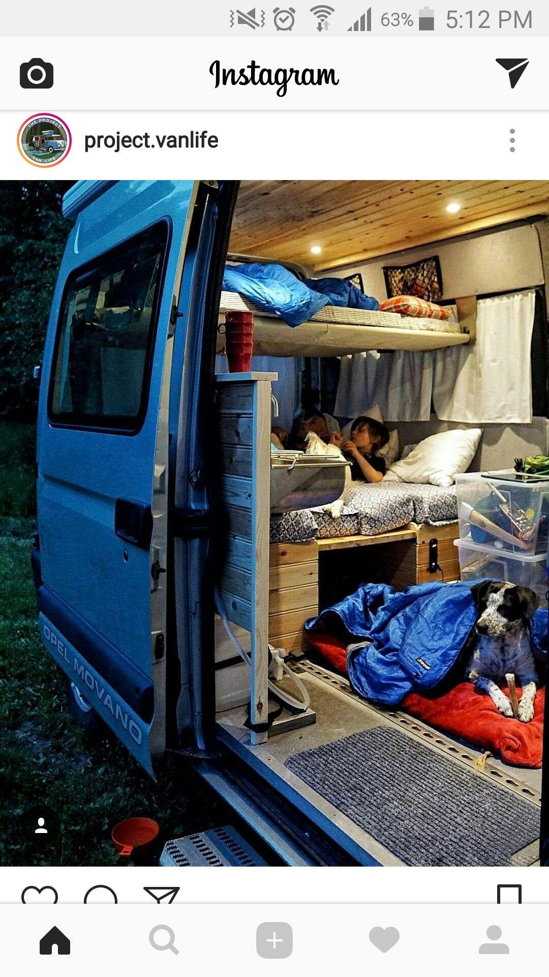 Pin by CJ Dyck on Camper van (With images) Van life diy