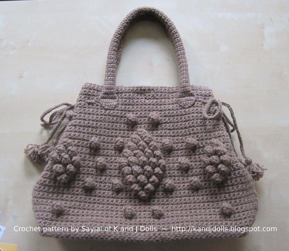 h keln tasche in taupe anleitung h keln crochet pattern anleitungen pinterest. Black Bedroom Furniture Sets. Home Design Ideas