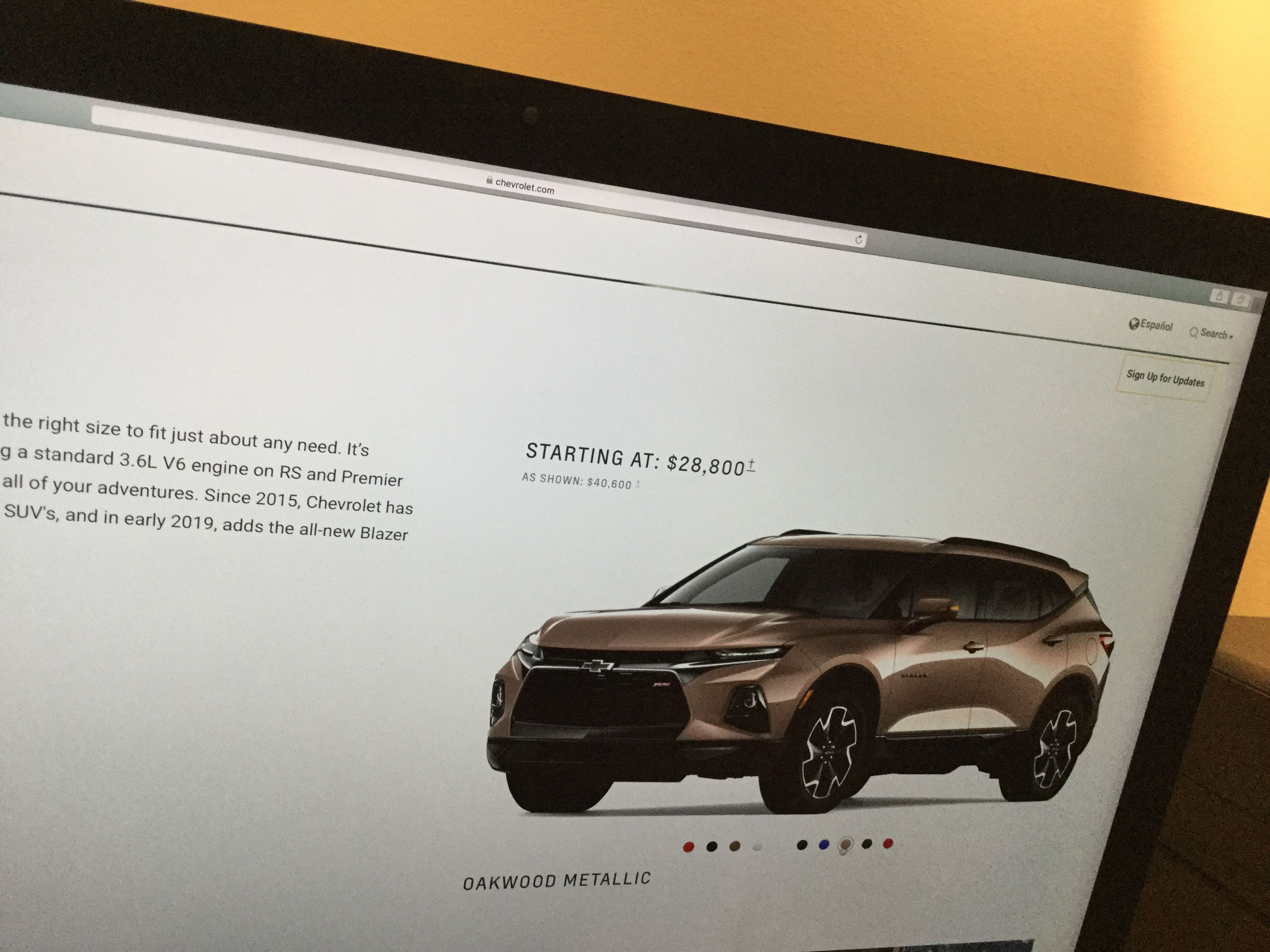 Pin by David on 2019 Chevy blazer pictures Pinterest