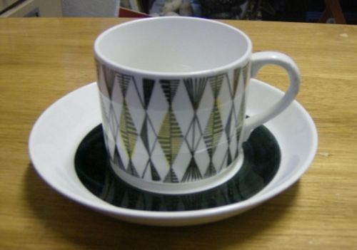 Retro Vintage Rorstrand Curtis Cup Saucer Sweden Swedish   eBay
