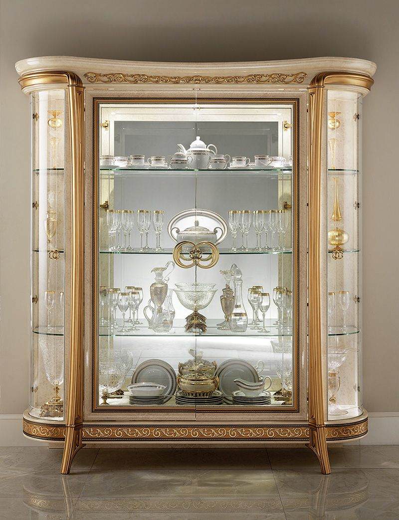 Melodia Collection Dining Room Display Cabinet Arredoclassic