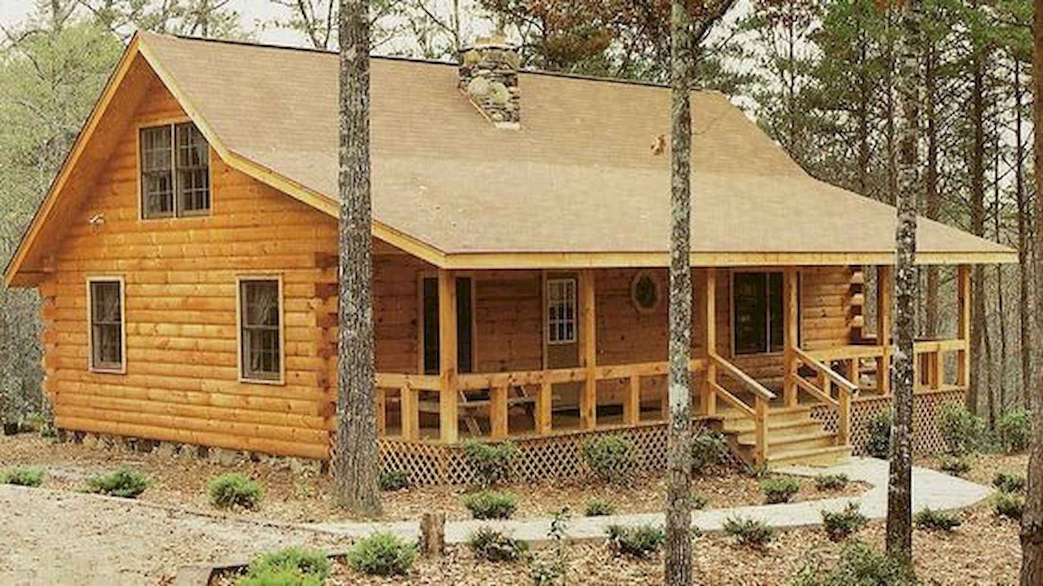 40 Best Log Cabin Homes Plans One Story Design Ideas