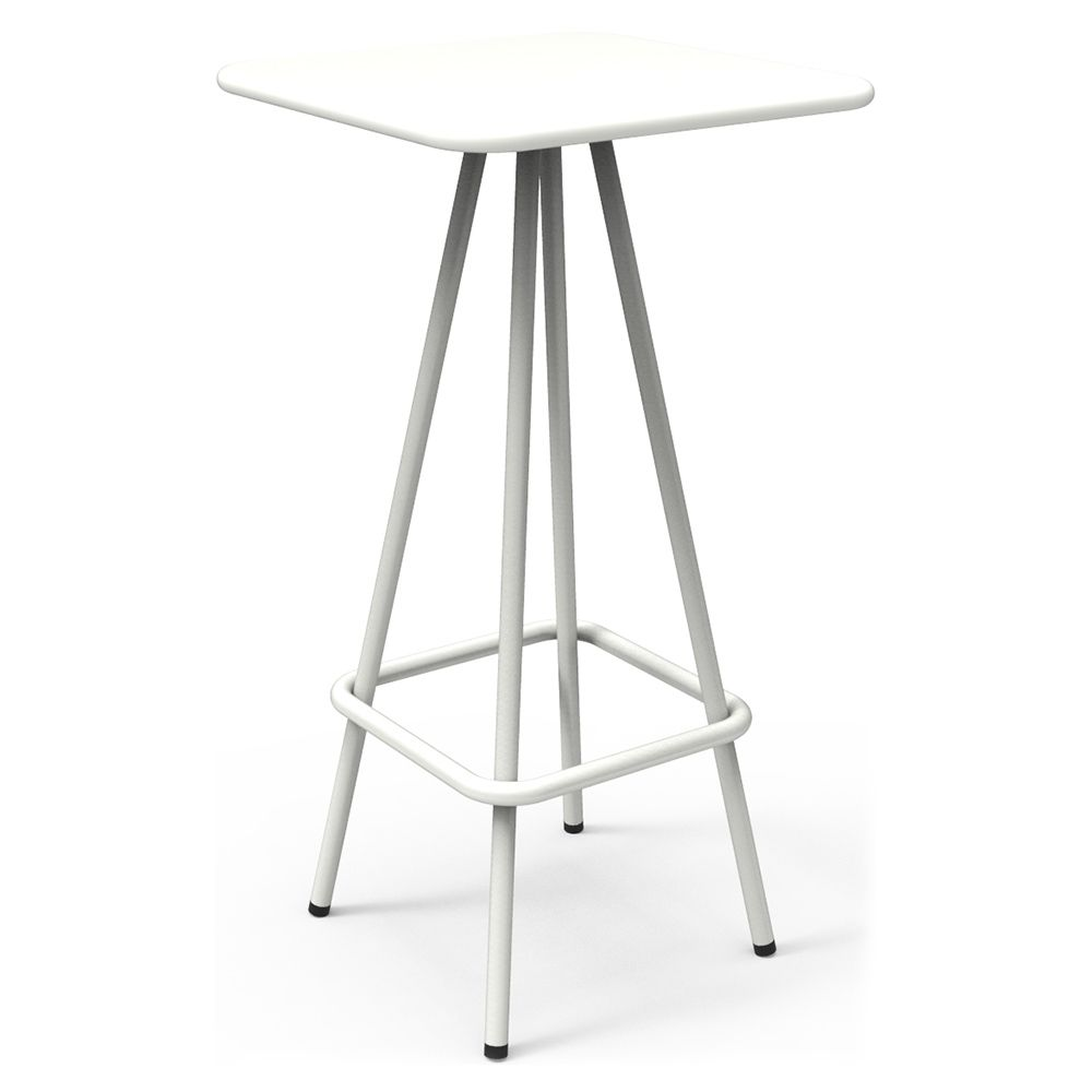 Week End Garden High Bar Table White The Week End Collection