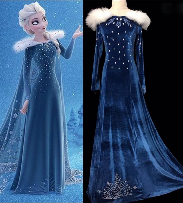 Baju Elsa Frozen