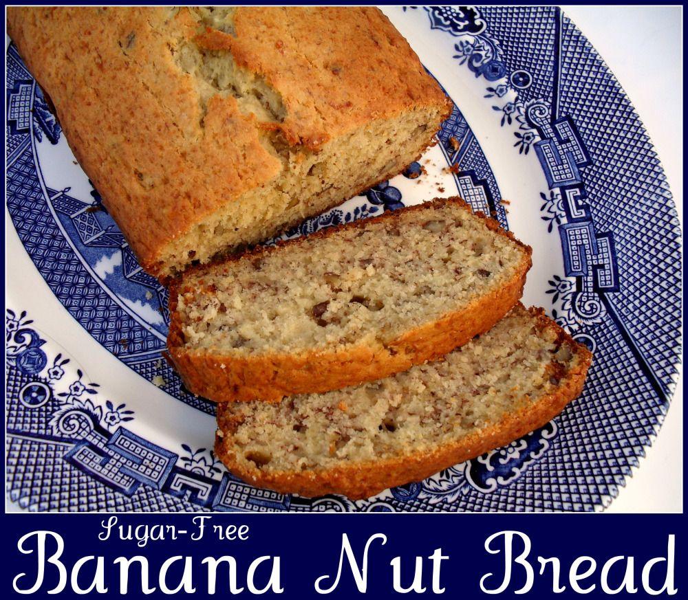sugar free banana nut bread | Sugar free banana bread ...