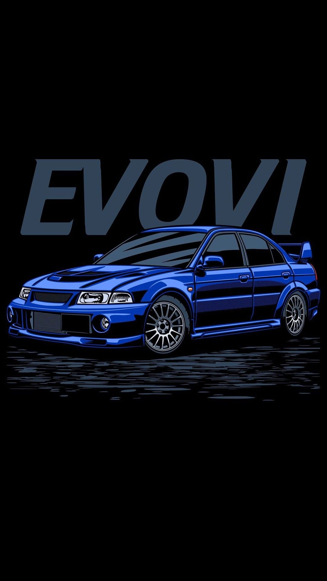 Evo Vi Poster Mitsubishi Lancer Evovi Ralliart Desenhos De