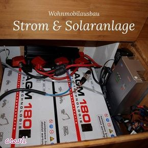 mobile solaranlage f r wohnmobil camping selber planen einbauen solaranlage wohnmobil. Black Bedroom Furniture Sets. Home Design Ideas
